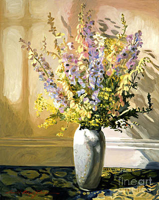 Bouquet Impressions Poster by David Lloyd Glover