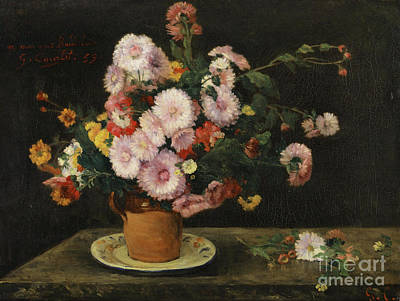 Bouquet Of Asters, 1859 Poster
