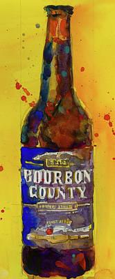 Bourbon County Stout, Goose Island Poster