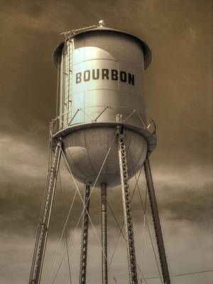 Bourbon Poster by Jane Linders