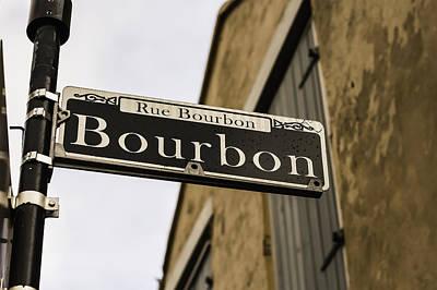 Bourbon Street, New Orleans, Louisiana Poster