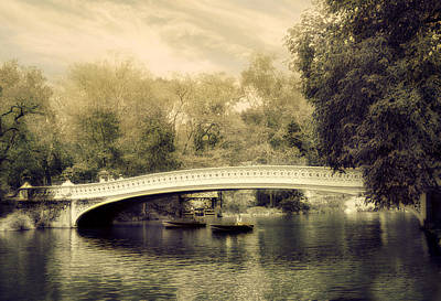 Bow Bridge Dreaming Poster by Jessica Jenney