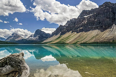 Poster featuring the photograph Bow Lake by Christina Lihani