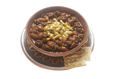 Bowl Of Chili Poster