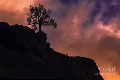 Box Canyon Sunset Poster