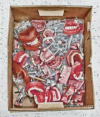 Box Of Dental Equipment Poster by Skip Nall