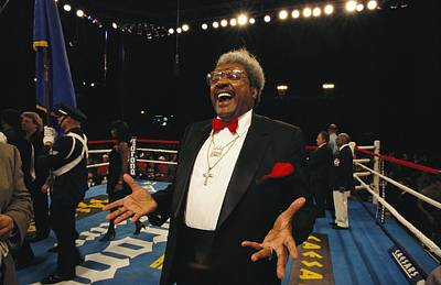 Boxing Promoter Don King In The Boxing Poster by Maria Stenzel
