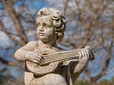 Boy Lute Statue Poster by Billy Soden