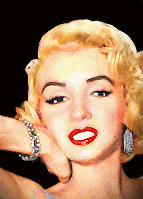 Bracelet On Marilyn Poster by John Farr