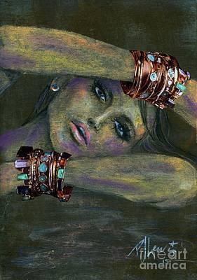 Bracelets  Poster by P J Lewis