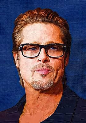 Brad Pitt Art Poster