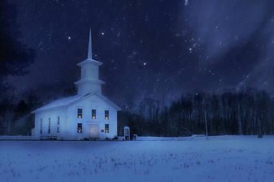 Bradford County Starlight Poster by Lori Deiter