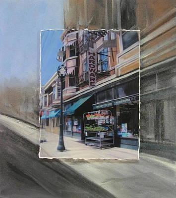 Brady Street - Hardware Layered Poster by Anita Burgermeister