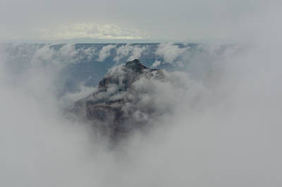 Brahma Temple In A Sea Of Clouds Poster