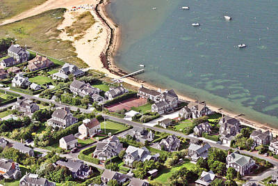 Brant Point House Nantucket Island 4 Poster