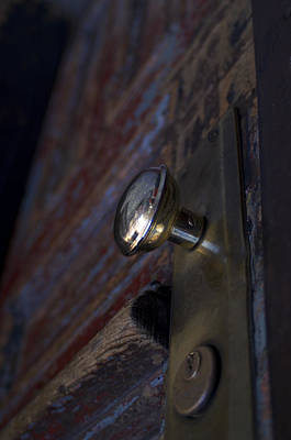 Brass Door Knob I Poster