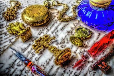 Brass Wax Seals Poster