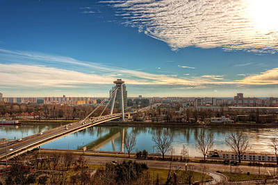Bratislava Skyline - Slovakia Poster