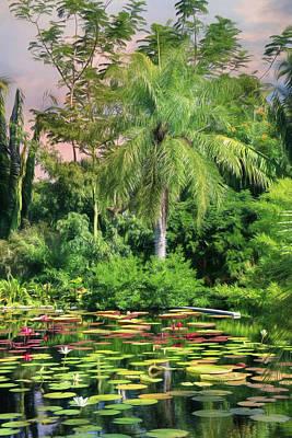 Brazilian Garden Poster by Lori Deiter