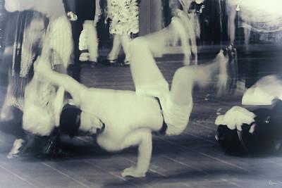 Poster featuring the photograph Break Dance by Rasma Bertz
