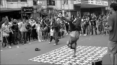 Breakdance At Bogota Colombia Poster by Daniel Gomez