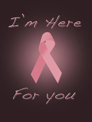 Breast Cancer Poster by Jim  Hatch