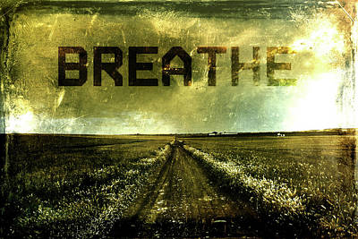 Breathe Poster by Andrea Barbieri