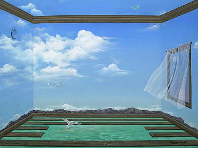 Breathing Room Poster by Sharon Ebert