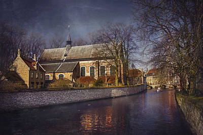 Breathtaking Bruges Poster by Carol Japp