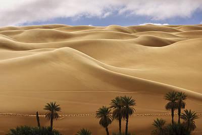 Breathtaking Sand Dunes Poster