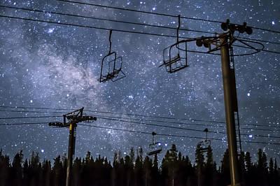 Breckenridge Milky Way Poster