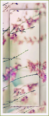 Poster featuring the photograph Breezy Blossom Panel by Jessica Jenney