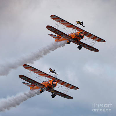 Breitling Wing Walkers Poster by Nichola Denny