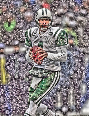 Brett Favre New York Jets Poster