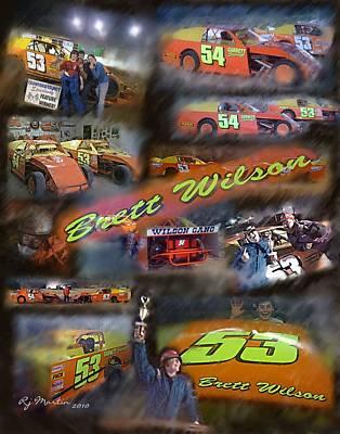 Brett The Jet Poster