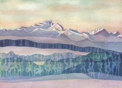 Brian Boru Mountain Poster by Anne Havard
