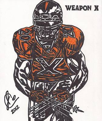 Brian Dawkins Poster by Jeremiah Colley