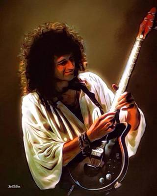 Brian May Of Queen Poster