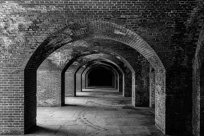 Brick Arches Ft Point Poster by Garry Gay