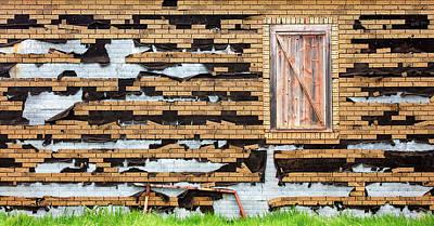 Brick Facade Poster by Todd Klassy