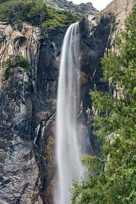 Bridal Veil Falls Poster by Bill Roberts