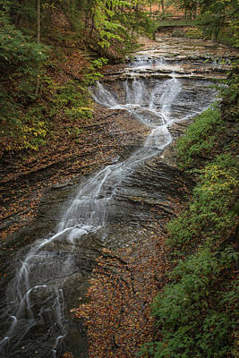 Poster featuring the photograph Bridal Veil Falls by Dale Kincaid