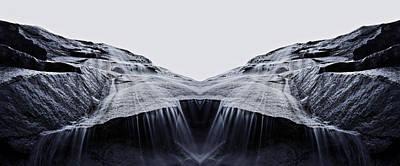 Bridal Veil Falls Reflection Poster by Pelo Blanco Photo