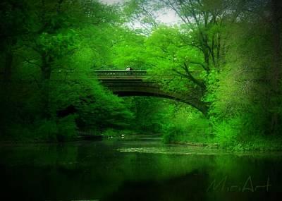 Bridge Poster by Miriam Shaw