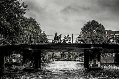 Bridge Over Still Water Poster