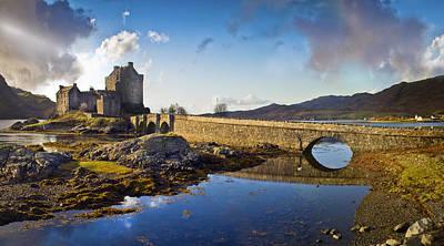 Bridge To Eilean Donan Poster by Gary Eason