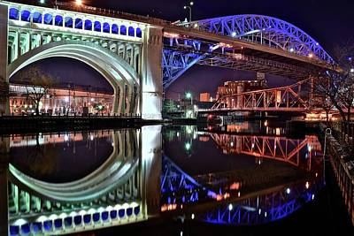 Bridges Poster by Frozen in Time Fine Art Photography