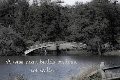Bridges Poster by Gwen Vann-Horn
