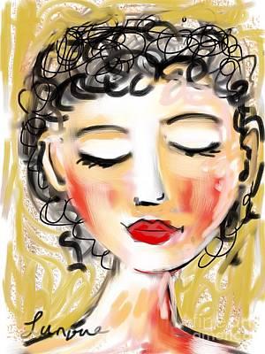 Bridgett Poster by Elaine Lanoue