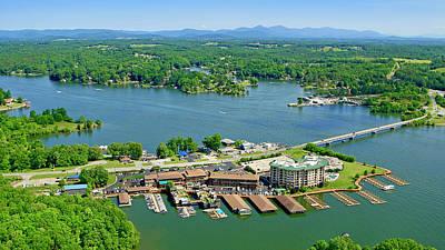 Bridgewater Plaza, Smith Mountain Lake, Virginia Poster